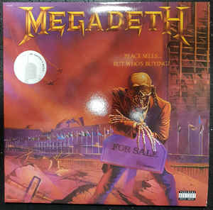 MEGADETH - PEACE SELLS...BUT WHO'S BUYING? VINYL