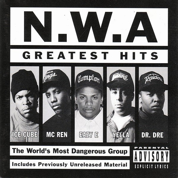 N.W.A. - GREATEST HITS VINYL