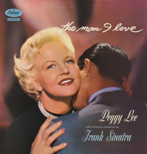 PEGGY LEE - THE MAN I LOVE (USED VINYL 1981 JAPAN M-/EX+)