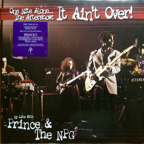 PRINCE & THE NPG - ONE NITE ALONE...THE AFTERSHOW: IT AIN'T OVER! (PURPLE COLOURED 2LP) VINYL