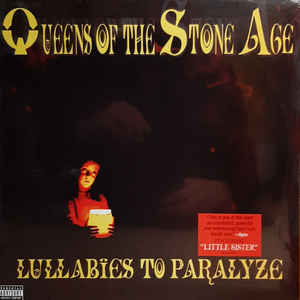 QUEENS OF THE STONE AGE - LULLABIES TO PARALYZE (2LP) VINYL