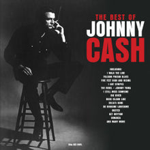 Load image into Gallery viewer, JOHNNY CASH - THE BEST OF (RED COLOURED 2LP) VINYL