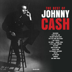JOHNNY CASH - THE BEST OF (RED COLOURED 2LP) VINYL