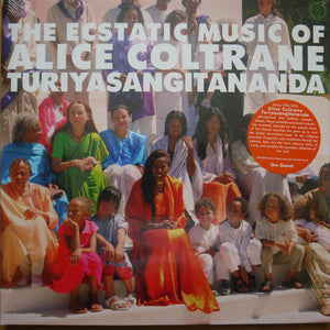 ALICE COLTRANE - THE ECSTATIC MUSIC OF ALICE COLTRANE TURIYASANGITANANDA (2LP) VINYL