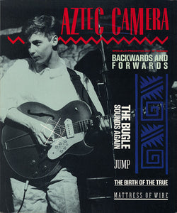 "AZTEC CAMERA - BACKWARDS AND FORWARDS (10"") (USED VINYL 1985 US EX/EX+)"