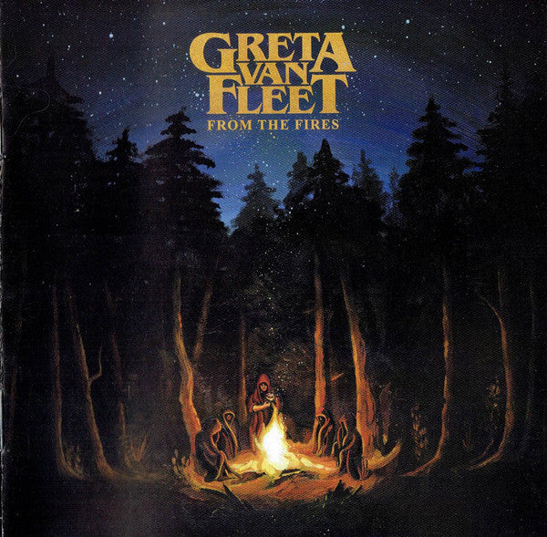 GRETA VAN FLEET - FROM THE FIRES VINYL