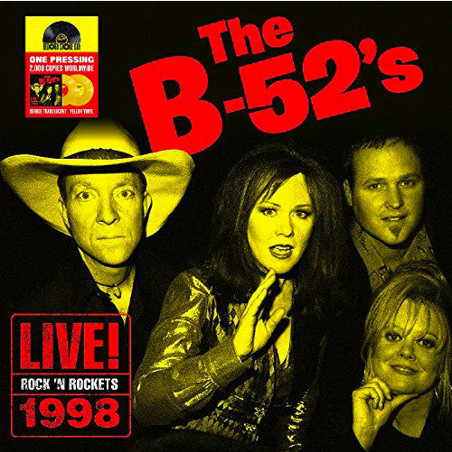 B-52'S - LIVE! ROCK 'N ROCKETS 1998 (2LP) VINYL