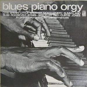 VARIOUS - BLUES PIANO ORGY (USED VINYL 1976 JAPAN M-/M-)