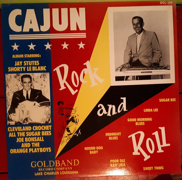 VARIOUS - CAJUN ROCK AND ROLL (USED VINYL 1989 UK M-/M-)