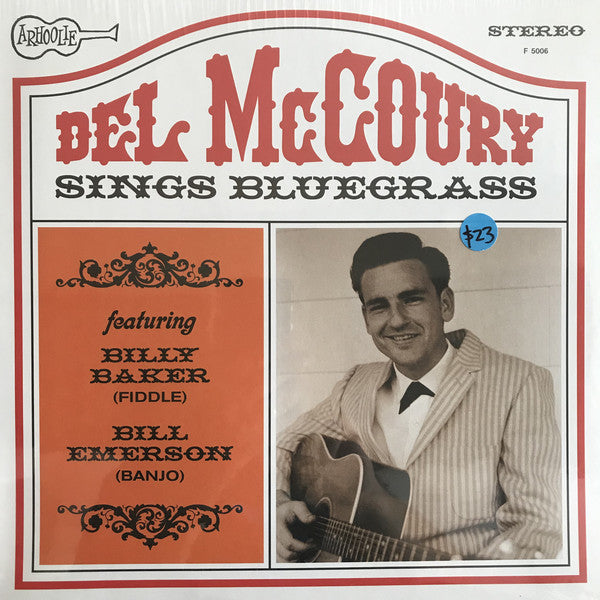 DEL MCCOURY - SINGS BLUEGRASS VINYL