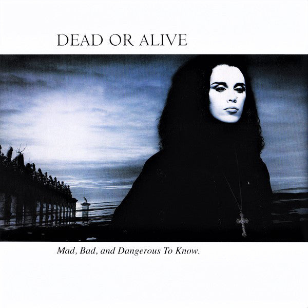 DEAD OR ALIVE - MAD, BAD AND DANGEROUS TO KNOW (USED VINYL 1986 US M-/EX)