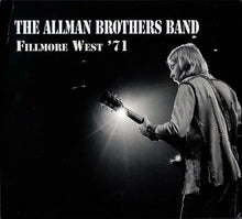 Load image into Gallery viewer, ALLMAN BROTHERS BAND - FILLMORE WEST '71 (4CD) CD