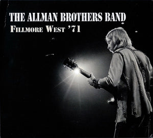 ALLMAN BROTHERS BAND - FILLMORE WEST '71 (4CD) CD