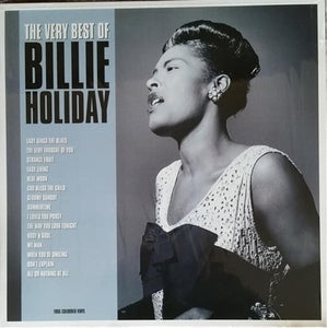BILLIE HOLIDAY - THE VERY BEST OF (TURQUOISE COLOURED) VINYL
