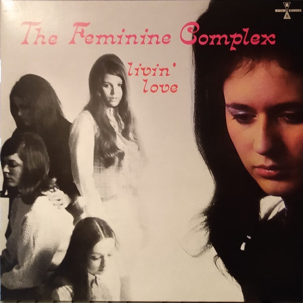 FEMININE COMPLEX - LIVIN' LOVE (2LP PINK COLOURED) VINYL