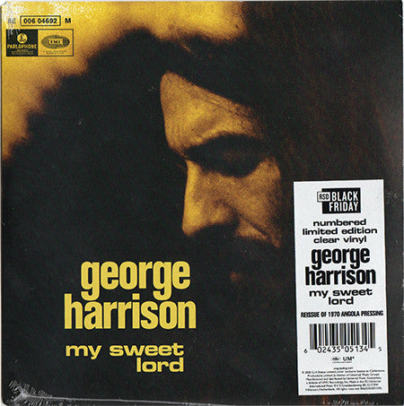 GEORGE HARRISON - MY SWEET LORD (CLEAR COLOURED) RSD 2020 7