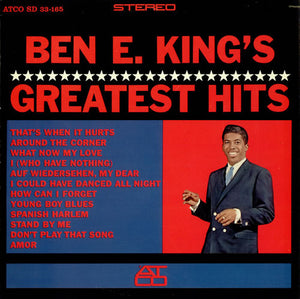 BEN E. KING - BEN E. KING'S GREATEST HITS (USED VINYL US M-/M-)