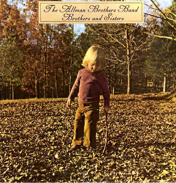 ALLMAN BROTHERS BAND - BROTHERS AND SISTERS (USED VINYL 1975 JAPAN M-/EX+)