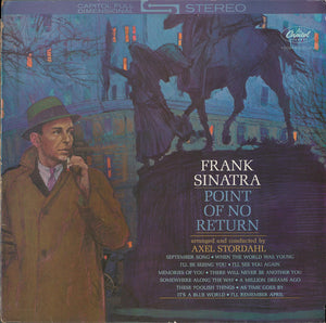 FRANK SINATRA - POINT OF NO RETURN (USED VINYL 1984 UK M-/EX+)