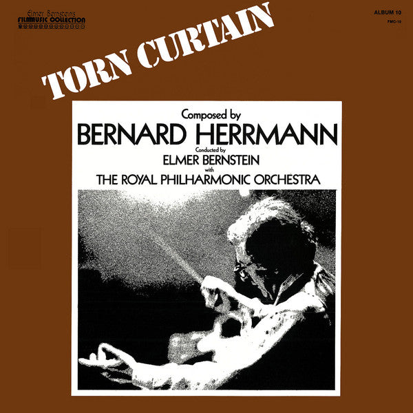 ELMER BERNSTEIN & THE ROYAL PHILHARMONIC ORCHESTRA - TORN CURTAIN (USED VINYL 1977 US M-/EX)