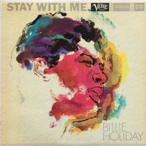 BILLIE HOLIDAY - STAY WITH ME (USED VINYL 1977 JAPAN M-/M-)