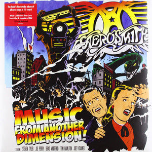 AEROSMITH - MUSIC FROM ANOTHER DIMENSION (RED COLOURED 2LP) VINYL