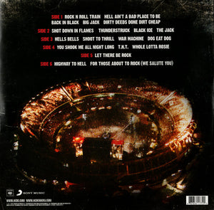 AC/DC ‎- LIVE AT RIVER PLATE (RED COLOURED 3LP) VINYL