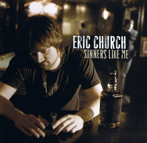 ERIC CHURCH - SINNERS LIKE ME (RED COLOURED) VINYL