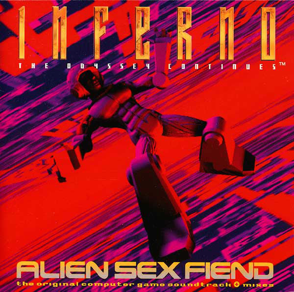 ALIEN SEX FIEND - INFERNO: THE ODYSSEY CONTINUES (2LP) (USED VINYL 1994 UK M-/M-)