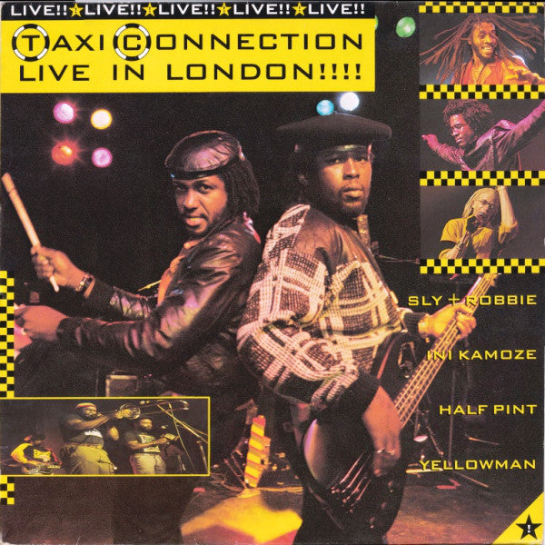 TAXI CONNECTION - LIVE IN LONDON (USED VINYL 1986 UK M-/M-)