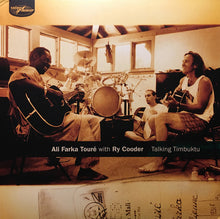 Load image into Gallery viewer, ALI FARKA TOURÉ WITH RY COODER - TALKING TIMBUKTU (2LP) VINYL