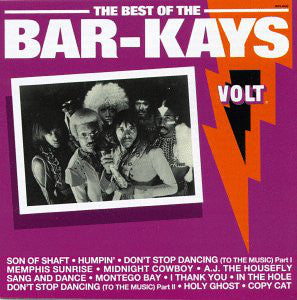 BAR-KAYS - THE BEST OF THE BAR-KAYS (USED VINYL 1988 US EX+/EX+)