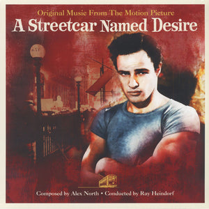 ALEX NORTH & RAY HEINDORF - A STREETCAR NAMED DESIRE OST VINYL