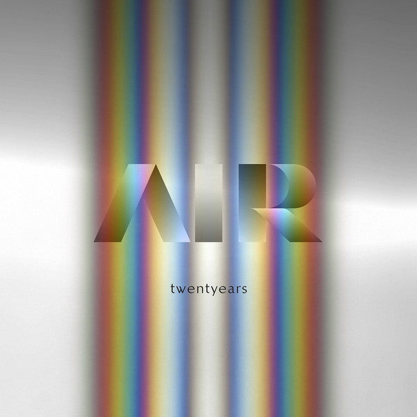 AIR ‎– TWENTYEARS (2 x LP 3 x CD) BOX SET VINYL