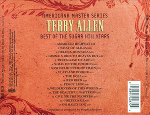 TERRY ALLEN - AMERICANA MASTER SERIES: BEST OF THE SUGAR HILL YEARS CD