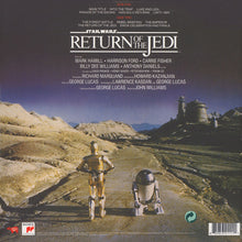 Load image into Gallery viewer, JOHN WILLIAMS ‎- STAR WARS: RETURN OF THE JEDI SOUNDTRACK (GOLD COLOURED) VINYL