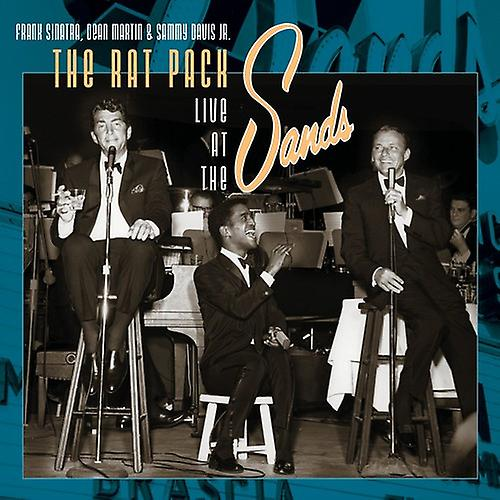 FRANK SINATRA, DEAN MARTIN & SAMMY DAVIS JR - THE RAT PACK LIVE AT THE SANDS (2LP) VINYL
