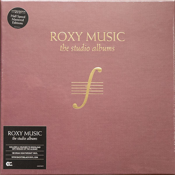 ROXY MUSIC - THE STUDIO ALBUMS (8LP) VINYL BOX SET