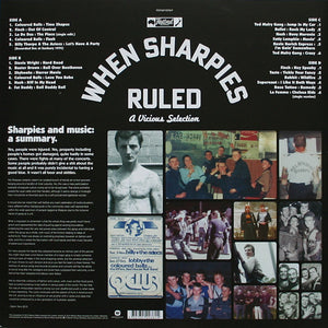 VARIOUS - WHEN SHARPIES RULED: A VICIOUS SELECTION (2LP) VINYL