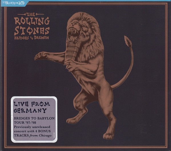 ROLLING STONES - BRIDGES TO BREMEN: LIVE FROM GERMANY 2CD+BLU-RAY