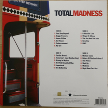 Load image into Gallery viewer, MADNESS - TOTAL MADNESS: ALL THE GREATEST HITS & MORE (RED COLOURED 2LP) VINYL