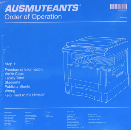 AUSMUTEANTS - ORDER OF OPERATION VINYL