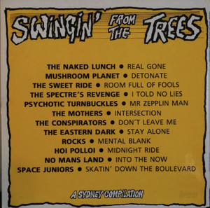 VARIOUS - SWINGIN' FROM THE TREES - A SYDNEY COMPILATION (UNPLAYED VINYL 1987 AUS)