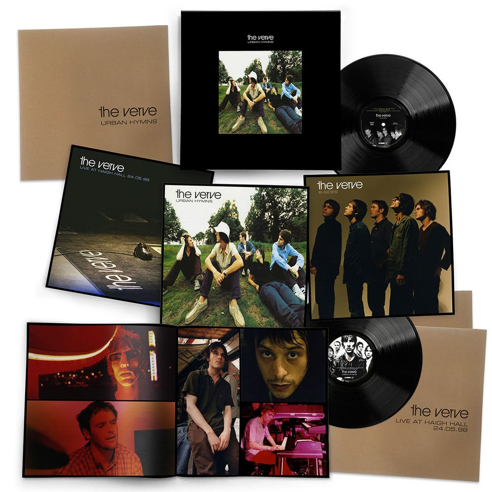 VERVE - URBAN HYMNS (6LP) VINYL BOX SET