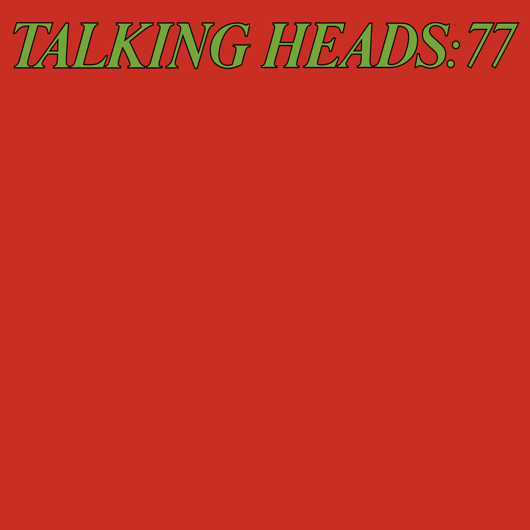 talking heads - 77 vinyl
