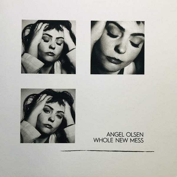 ANGEL OLSEN - WHOLE NEW MESS (SMOKY CLEAR) VINYL