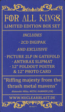 Load image into Gallery viewer, ANTHRAX - FOR ALL KINGS (PICTURE DISC/2CD) BOX SET