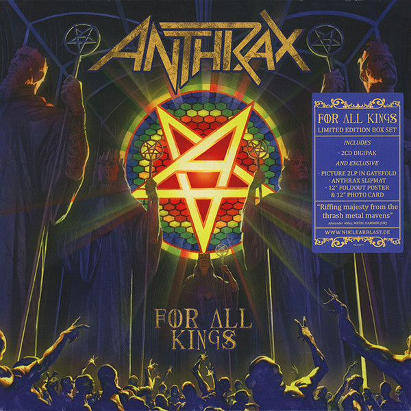 ANTHRAX - FOR ALL KINGS (PICTURE DISC/2CD) BOX SET