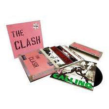 Load image into Gallery viewer, CLASH - THE CLASH 5 STUDIO ALBUMS (5LP) VINYL BOX SET