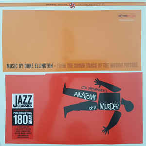 DUKE ELLINGTON - ANATOMY OF A MURDER SOUNDTRACK VIYNL